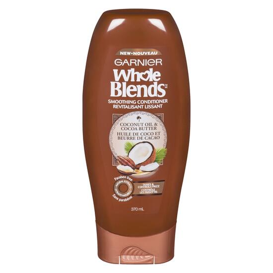 Garnier Whole Blends Coconut Oil and Cocoa Butter Conditioner - 370ml