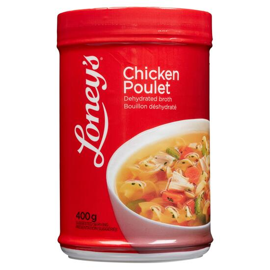 Loney's Chicken Dehydrated Broth - 400g