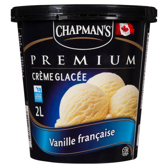 Chapman's Premium French Vanilla Ice Cream - 2L
