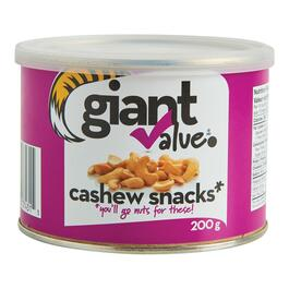 Giant Value Cashew Snacks - 200g