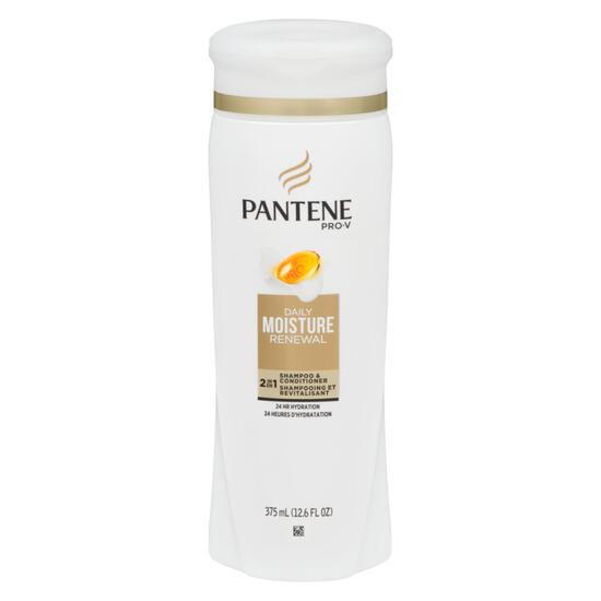 Pantene® Pro-V Daily Moisture Renewable 2-in-1 Shampoo and Conditioner - 375ml