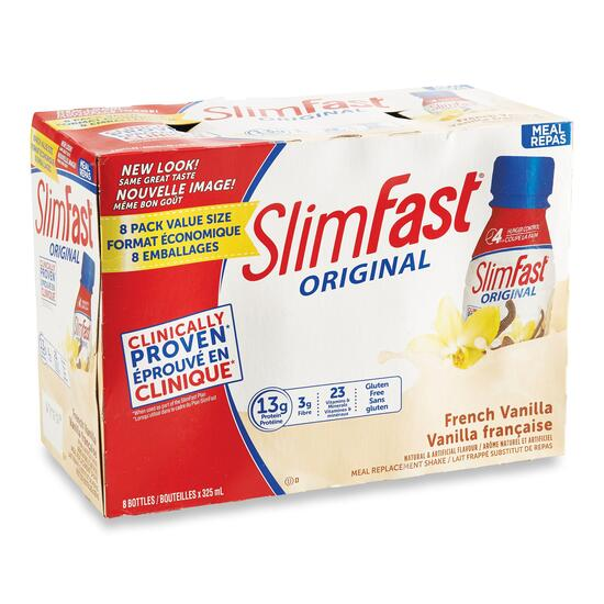 SlimFast Meal Replacement - 8x355mL