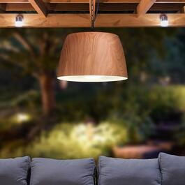 Paradise Oak-Inspired Pendant Light