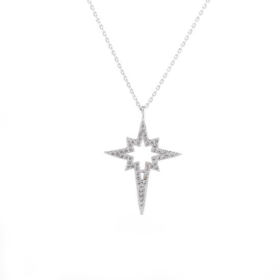 Silver & Co Necklace with Star Pendant