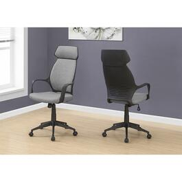 Monarch Specialties High Back Office Chair - Grey