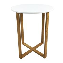 HomeStyles White Round Side Table
