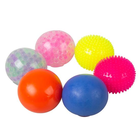Grafix Sensory Ball Set - 6pk.