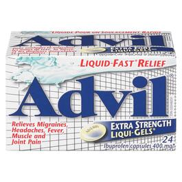 Advil Extra Strength Liquid Gels - 24pk.