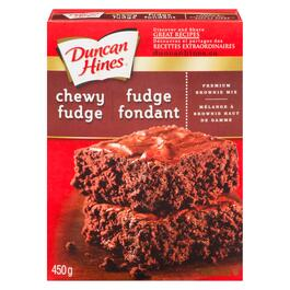 Duncan Hines Premium Chewy Fudge Brownie Mix - 450g