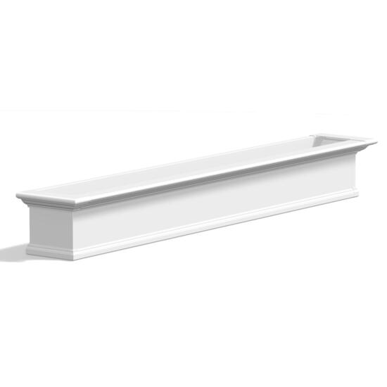 Mayne Yorkshire White  Window Box - 7ft.