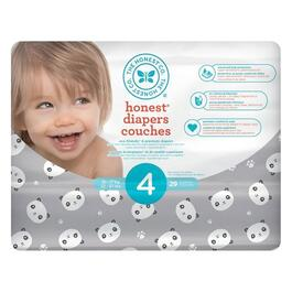 The Honest Company Panda Patterned Diapers Size 4 - 116pk.