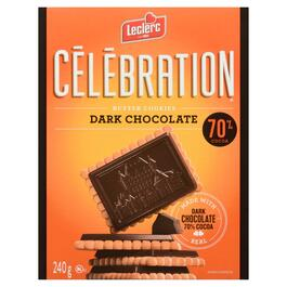 Célébration 70%  Dark Chocolate Butter Cookies - 240g