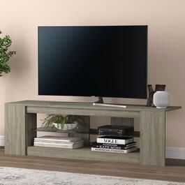 Safdie & Co. Dark Taupe TV Stand