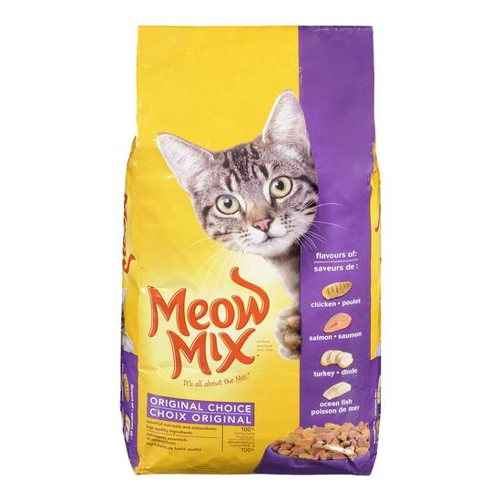 Meow Mix Original Cat Food - 4kg