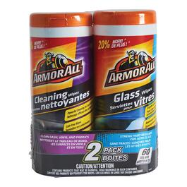Armor All Glass Clean Wipes - 2pk.