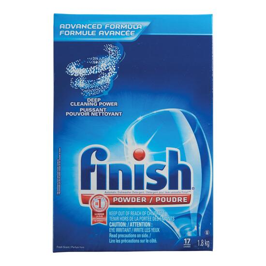 Finish Powder Fresh Scent Dishwasher Detergent - 1.8kg