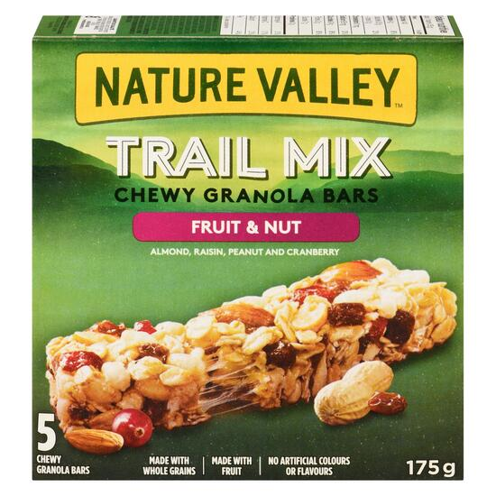 Nature Valley Trail Mix Chewy Granola 5pk. - 175g