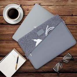 Rivacase Grey Macbook Pro and Ultrabook Sleeve - 13.3in.