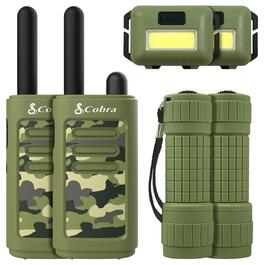 Cobra Kids 2-Way Radio with 25km Range - 6pc.