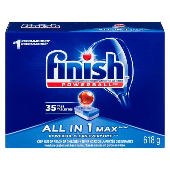 Finish® All-in-1 Max Dishwasher Detergent - 35pk.