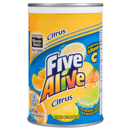 Five Alive Citrus Real Fruit Beverage - 295ml