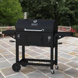 Dyna-Glo Extra Large Heavy-Duty Charcoal Grill - Black