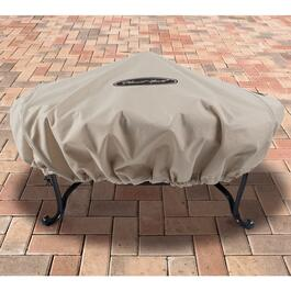 Pleasant Hearth Beige Small Round Fire Pit Cover