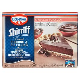 Dr. Oetker Shirriff Chocolate Cooked Pudding and Pie Filling Mix - 180g