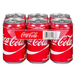 Coca-Cola Coke 6pk. - 222ml