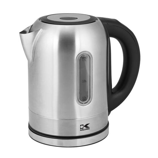 Kalorik Stainless Steel Digital Water Kettle with Colour Changing LED Lights - 1.7L