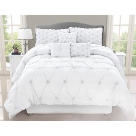 Safdie & Co. Chateau Queen Premium Comforter Set - 7pc.