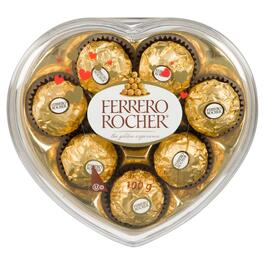 Ferrero Rocher Hazelnut Chocolate Heart - 100g
