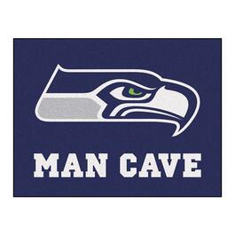 NFL Seattle Seahawks Man Cave All-Star Rug