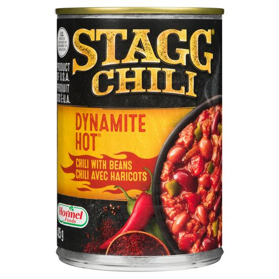 Stagg Chili Dynamite Hot Chili with Beans - 425g