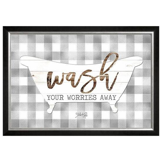 Wash Bath Wall Art - 16in.