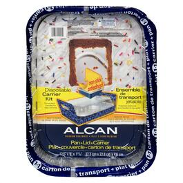 Alcan Aluminum Non-Stick Pan with Lid Carrier Kit - 13in.