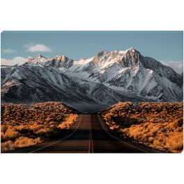 Road and Mountains - 24in. x 36in.