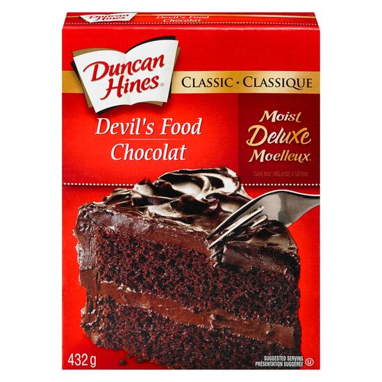 Duncan Hines Classic Devil's Food Cake Mix - 432g