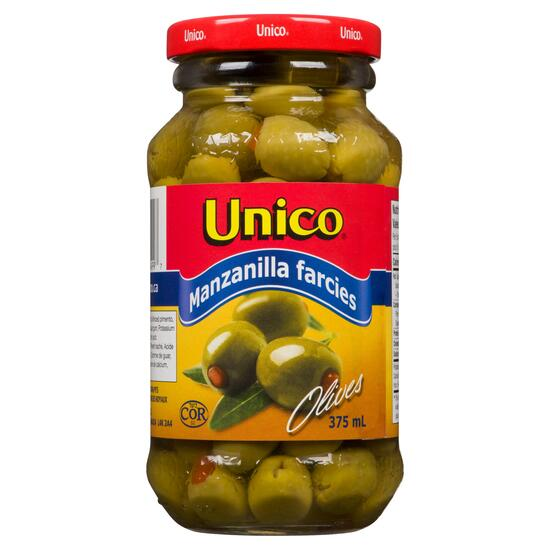 Unico Stuffed Manzanilla Olives - 375ml