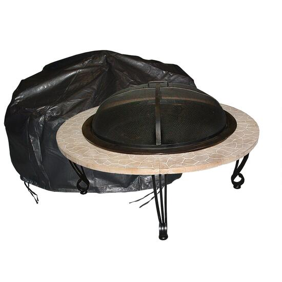 Paramount Outdoor Firepit Cover - Round