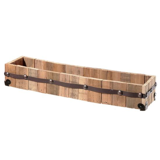 IH Casadecor Rectangular Wood Planter - 20in.