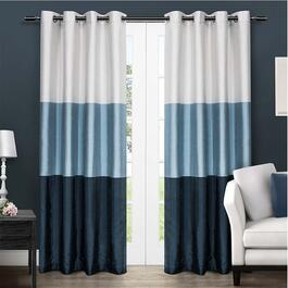 Exclusive Home Chateau Striped Curtains - 96in.