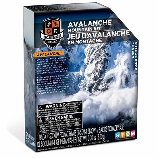 Science Squad Avalanche Mountain Kit