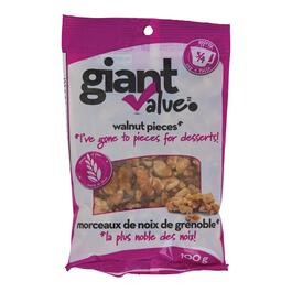 Giant Value Walnut Pieces - 100g