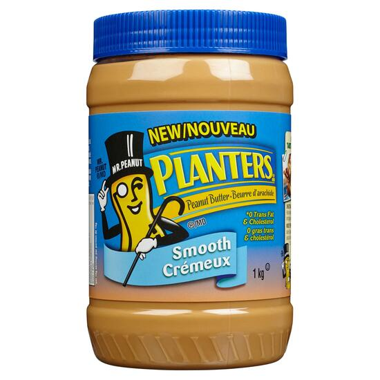 Planters Smooth Peanut Butter - 1kg