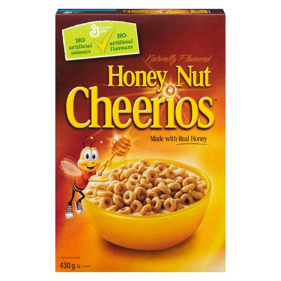 Honey Nut Cheerios Cereal - 430 g