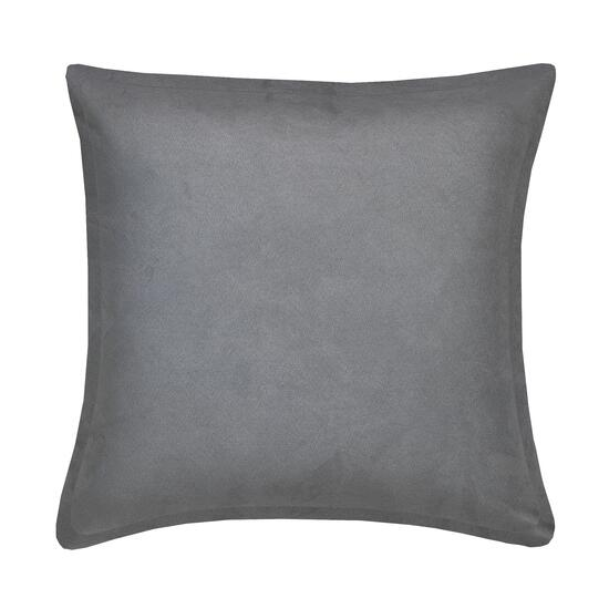 Milano Suede Grey Cushion - 20in.