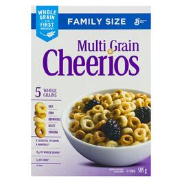 Multi-Grain Cheerios Cereal Family Size - 585g
