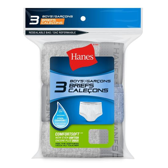 Hanes Boy's Medium Briefs - 3pk.
