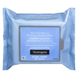 Neutrogena All in One Make-up Cleansing Wipes - 25pk.